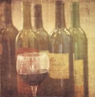 Wine Vignette II Fine Art Print