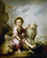 The Good Shepherd, around 1665. Fine Art Print
