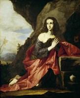Saint Mary Magdalen or Saint Tais, 1641 Fine Art Print