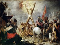 Martyrdom of Saint Andrew Fine Art Print