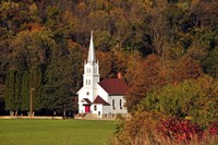 Church In the Valley Fine Art Print