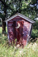 The Outhouse Fine Art Print