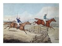 Hunting Scene by Henry Alken - various sizes