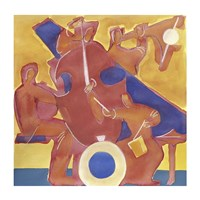 Homage to Mingus Fine Art Print