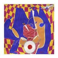 Homage to Mingus II by Gil Mayers - various sizes