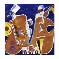 Jazz Collage I by Gil Mayers - various sizes
