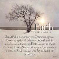 Faith Fine Art Print