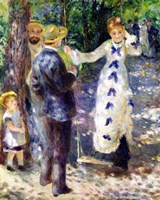 The Swing, 1876 Fine Art Print