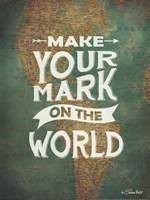 Make Your Mark Framed Print