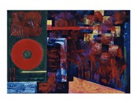 Untitled (Red Abstract) by Gil Mayers - various sizes