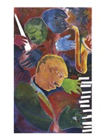 Jazz Messenger III by Gil Mayers - various sizes