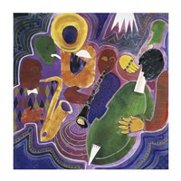 Quartet (Night in Tunisia) by Gil Mayers - various sizes