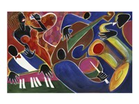 Jazz Singer by Gil Mayers - various sizes
