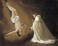 Saint Peter Apostle Appears to Saint Peter Nolasco Fine Art Print