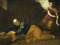 Saint Peter Freed by an Angel, 1639 Fine Art Print