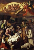 Adoration of the Shepherds, 1638 Fine Art Print