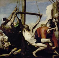 The Martyrdom of St. Philip Fine Art Print