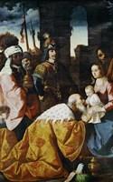The Adoration of the Magi Fine Art Print