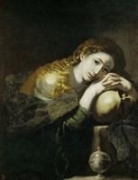Saint Mary Magdalen Penitent Fine Art Print