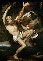 The Martyrdom of St.Bartholomew Fine Art Print