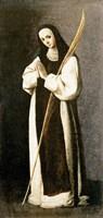 Portrait of a Nun of the Jeronimite Order Fine Art Print
