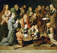 Saint Diego of Alcala Feeds the Poor Fine Art Print