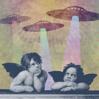 Meanwhile, Up In Heaven Fine Art Print