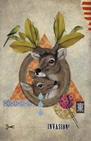 Oh Deer by Elo Marc - various sizes