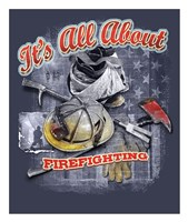 Firefighters Fine Art Print