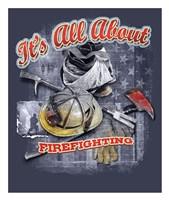 Firefighters Framed Print