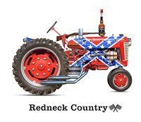 Redneck Country Fine Art Print