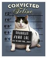 "Convicted Feline by Jim Baldwin - 26"" x 32"""