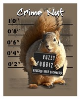 Crime Nut Fine Art Print