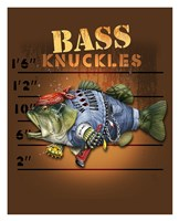 Bass Knuckles Framed Print