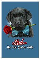 Lab the One You're With Fine Art Print