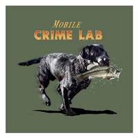 Mobile Crime Lab Fine Art Print