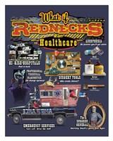 Redneck Healthcare Framed Print