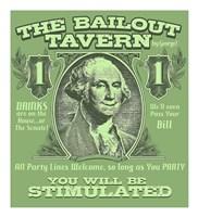 "The Bailout Tavern by Jim Baldwin - 20"" x 22"""