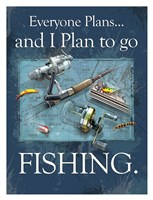 "26"" x 34"" Fishing Prints"