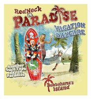 Redneck VaCatsion Daycare Fine Art Print