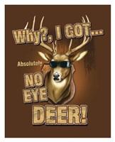 """No Eye Deer / Deer / Elk by Jim Baldwin - 26"""" x 32"""""""