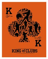 King of Clubs Fine Art Print
