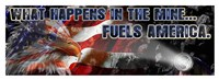 "Fuels America by Jim Baldwin - 44"" x 16"""