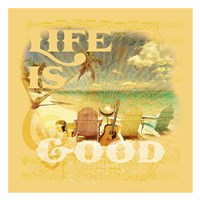 "Life is Good by Jim Baldwin - 26"" x 26"""