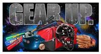 "Gear Up Baseball by Jim Baldwin - 42"" x 23"", FulcrumGallery.com brand"