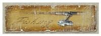"""Fishing by Jim Baldwin - 44"""" x 16"""""""