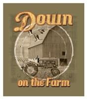 "Down on the Farm by Jim Baldwin - 30"" x 34"""