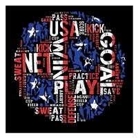 Soccer USA Fine Art Print