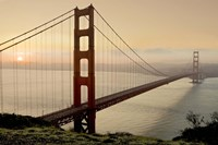 Golden Gate Sunrise #2 Fine Art Print