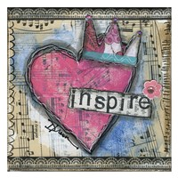 "Inspire by Denise Braun - 26"" x 26"""